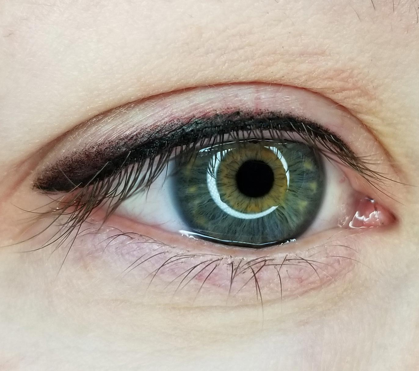 Permanent Eyeliner by Hayley Shortridge-Gabriel