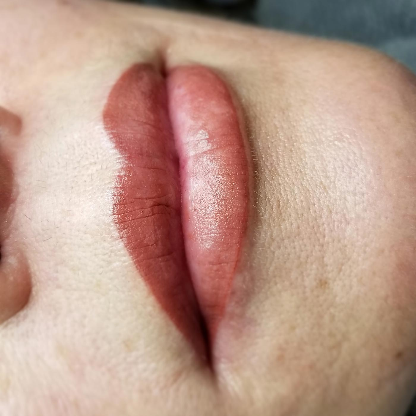 Permanent Lip Tattoo by Heidi Klein