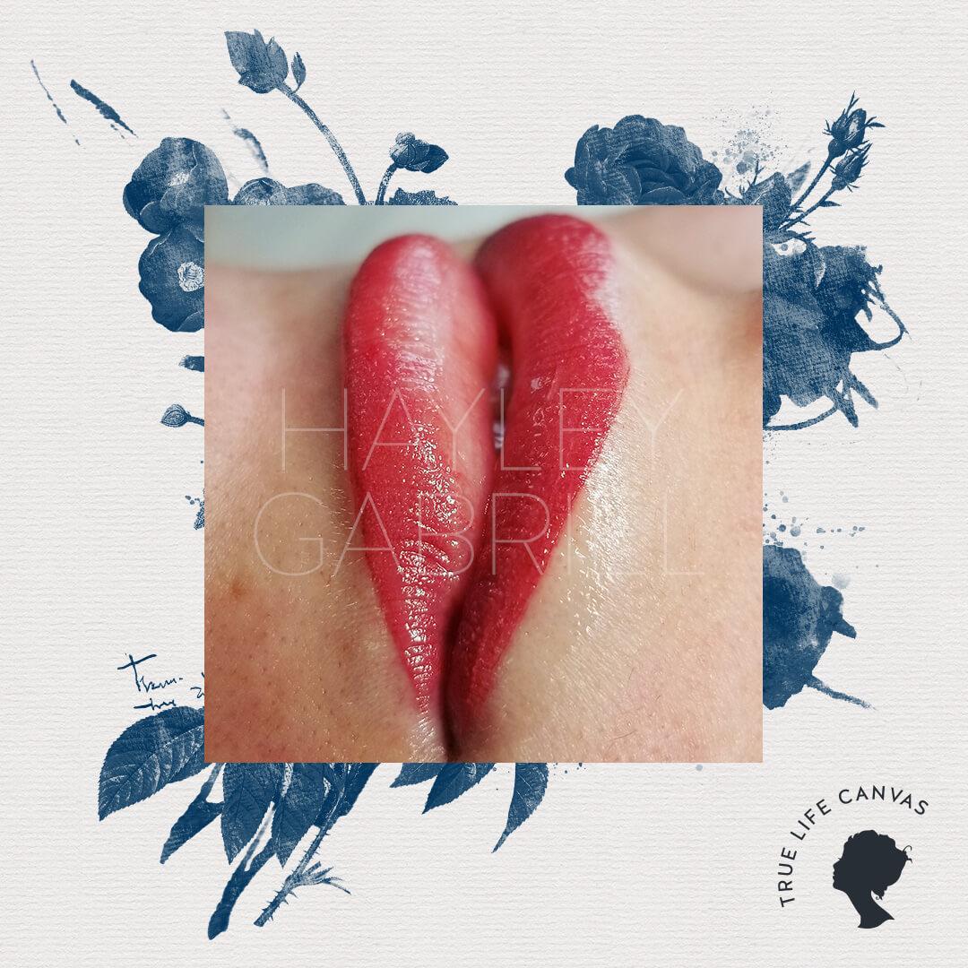 Permanent Lip Tattoo by Hayley Shortridge-Gabriel
